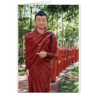 Cartão Templo de Nellikulama de 500 Arahants, Sri Lanka