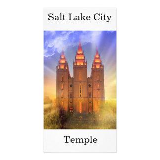 Cartão Templo de Salt Lake City LDS