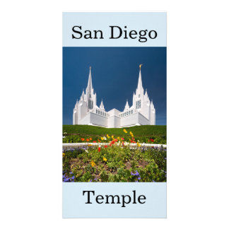 Cartão Templo de San Diego LDS