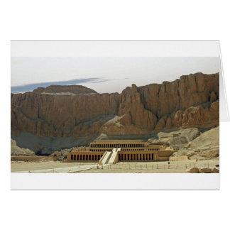 Cartão templo do karnak
