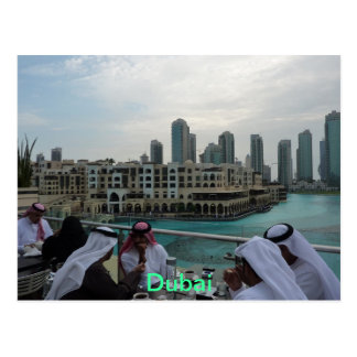 CARTÃO - tempo do café em Dubai