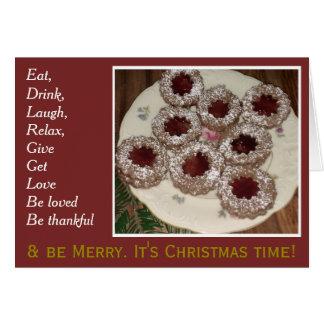 Cartão Tempo do Natal