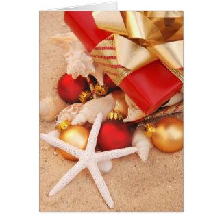 Cartão Tempo morno Christmastime