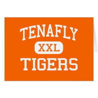 Cartão Tenafly - tigres - alto - Tenafly New-jersey