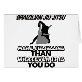 Cartão Tendendo o DESIGN de Jiu Jitsu