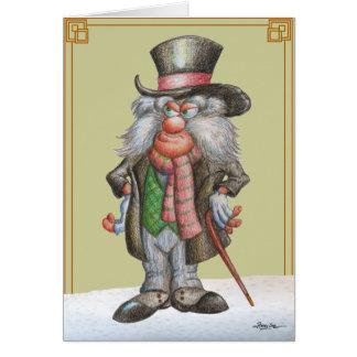Cartão Tenha muito um Natal de Snarky!
