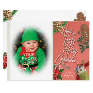 Cartão Tenha um bonito e o Feliz Natal