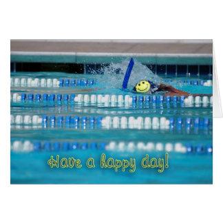 Cartão Tenha um dia feliz