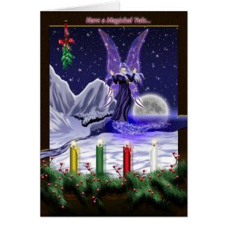 Cartão Tenha um Magickal Yule…