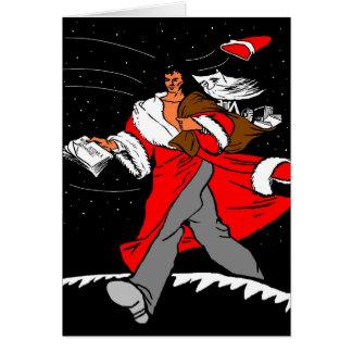 Cartão Tenha um Natal do Commie