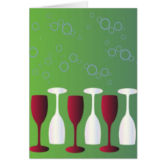 Cartão Tenha um vidro do vinho!