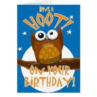 Cartão Tenha uma BUZINA! Em seu aniversário