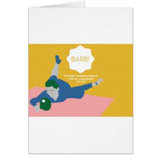 Cartão Ténis de mesa Barb