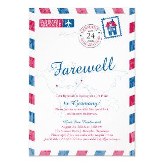 Cartão Tennessee a mover-se do correio aéreo de Alemanha