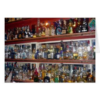 Cartão tequilas