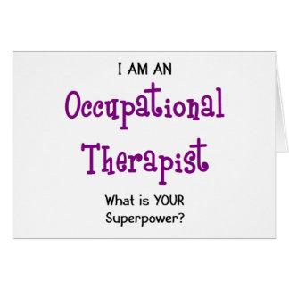 Cartão terapeuta ocupacional