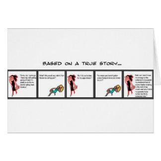 Cartão Terapia do telefone