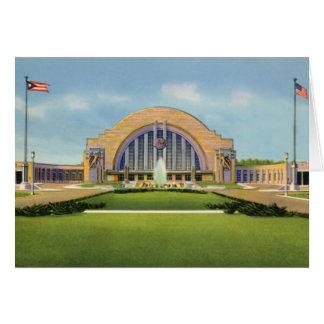 Cartão Terminal da união de Cincinnati Ohio