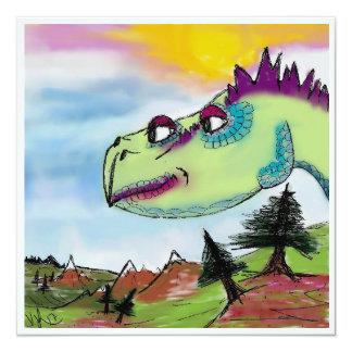 Cartão Terra de Dino