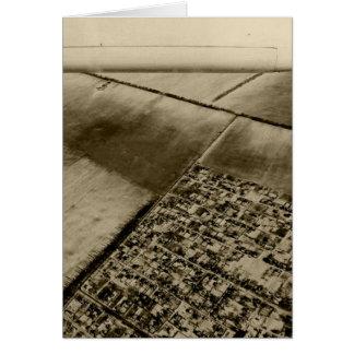 Cartão Terra do ar