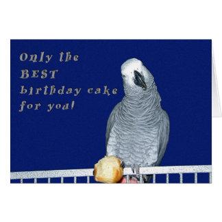 Cartão Teste o bolo