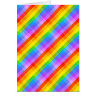Cartão Teste padrão brilhante