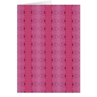 Cartão Teste padrão cor-de-rosa do papel de parede,