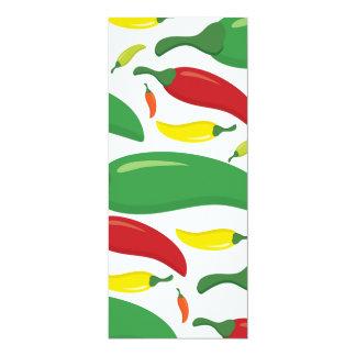 Cartão Teste padrão da pimenta