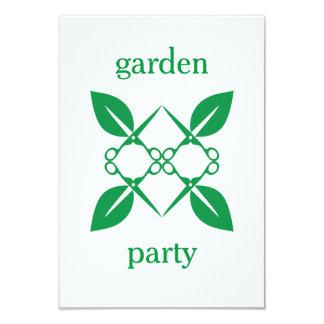 Cartão Teste padrão de jardinagem