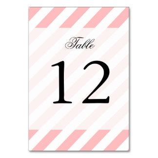 Cartão Teste padrão diagonal do rosa e o branco das