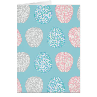 Cartão Teste padrão Pastel Brainy (cérebros Pastel