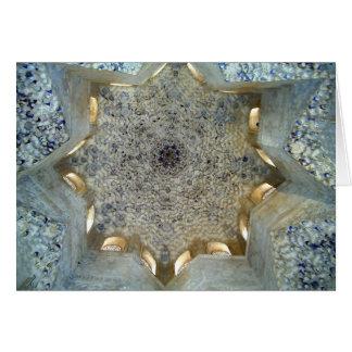 Cartão Teto de Alhambra