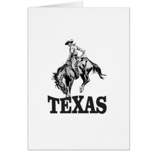 Cartão Texas preto