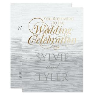 Cartão Textura branca e cinzenta elegante simples do