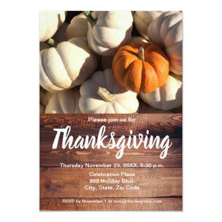 Cartão Thankgiving, abóbora, queda, vertical