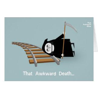Cartão That Awkward Death