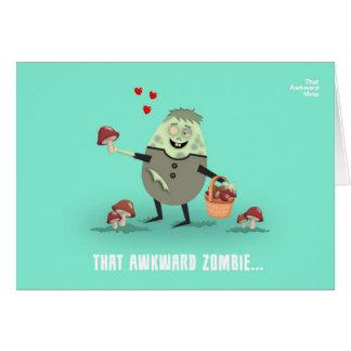 Cartão That Awkward Zombie