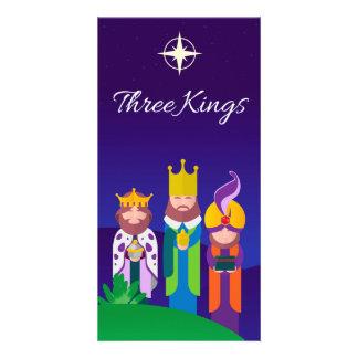 Cartão Three Kings