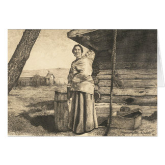 Cartão Tia Mary
