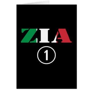 Cartão Tias italianas: ONU de Zia Numero
