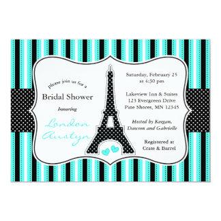 Cartão │ Tiffany dos chás de panela da torre Eiffel