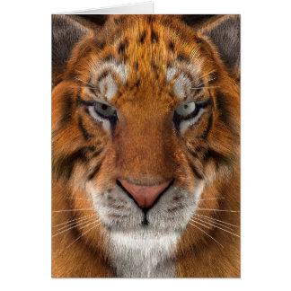 Cartão Tigre