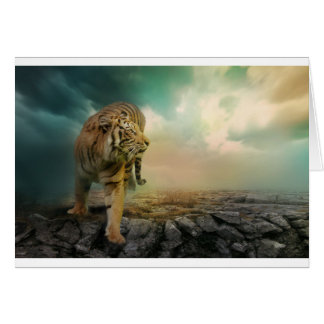 Cartão Tigre grande