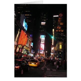 Cartão Times Square