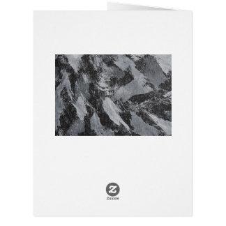 Cartão Tinta branca no fundo preto #3