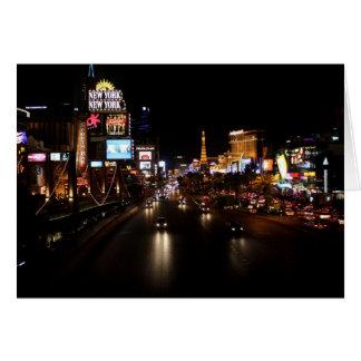 Cartão Tira Notecard de Viva Las Vegas