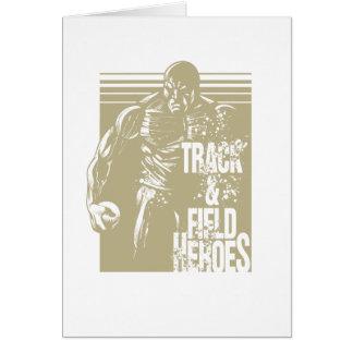 Cartão tiro dos heróis do tnf psto