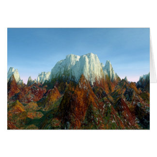 Cartão Toca dos dragões da montanha