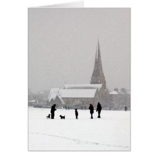 Cartão Toda a igreja dos santos, Blackheath