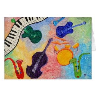 Cartão Todo esse jazz
